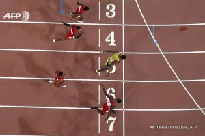 O que é 1 centésimo nos 100m...?