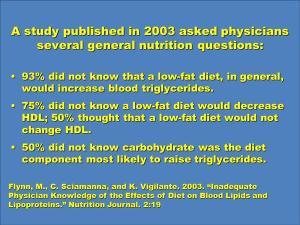 Mas a culpa, dirá o nutricionista, é que VOCÊ vem comendo mal, não que a orientação é tosca...