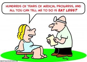 Anos e anos de progresso da ciência e tudo o que você tem pra me dizer é para comer menos?!?
